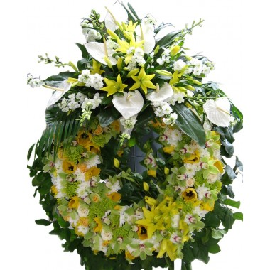 Corona di fiori Luxury
